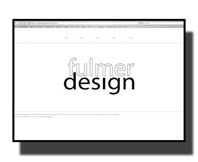 Fulmer Design Screen Shot